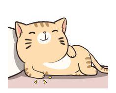 Boogy Tamy : Like a Boss Cute Cartoon Images, Cartoon Gifs, Cute Love Gif, Cute Cat Gif, Neko Cat, Kawaii Cat, Animated Smiley Faces, Cat Emoji, Cat Icon