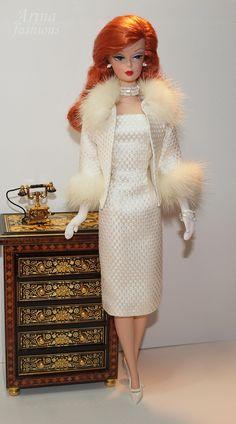 Silkstone Barbie in Arina fashions. SNOW FLOWER | Flickr - Photo Sharing!