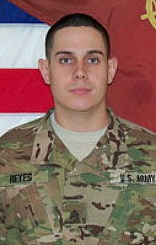 Army Sgt. Jose J. Reyes, 24, of San Lorenzo, Puerto Rico. Died July 18, 2012, serving during Operation Enduring Freedom. Assigned to 548th Combat Sustainment Support Battalion, 10th Sustainment Brigade, 10th Mountain Division, Fort Drum, New York. Died in Ghazni City, Afghanistan, when his vehicle was struck by an enemy improvised explosive device.