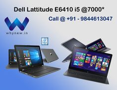 Whynew offers best variants of low cost, refurbished computers, second hand laptops and used laptops, Desktops in Bangalore & online. All are tested products Refurbished Desktop, Refurbished Computers, Refurbished Laptops, Second Hand Laptops, Used Laptops, Used Computers, Physical Condition, Dell Latitude, Computer Accessories
