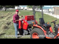 Tedding, Raking, and Baling demonstration with the Molon 120 belt rake and the Abbriata mini round baler, twine wrap, hitsch model. Tractor Attachments, Baler, Compact Tractors, Backyard Farming, Hobby Farms, Homesteading, Outdoor Power Equipment, Homemade Tools, Horse
