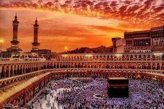 Ka'bah Mecca  #SunSet