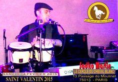 #sadko martin #sadkomartin #14fevrier2015 #Concert #bossanova #salsa #tropical  #affiche