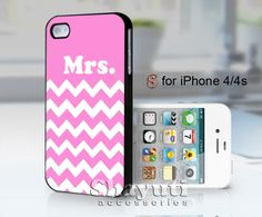 #Mrs #Chevron #pink #case #samsung #iphone #cover #accessories