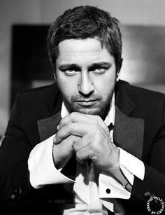 Gerard Butler... God, I wish I was an actress!