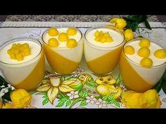 Deser z Mango   Panna Cotta z Mango   Przepis na Deser z Mango - YouTube