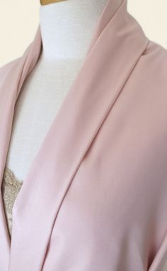 Versatile shell-pink suiting fabric in cotton and viscose with a little stretch. Perfect for summer suits and coats, or an evening alternative to a black tuxedo. Black Tuxedo, Color Filter, Summer Suits, Trench Coats, Shells, Alternative, Style Inspiration, Fabric, Pattern