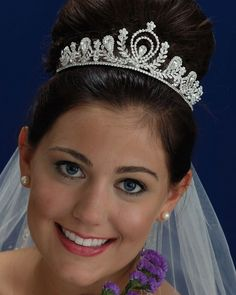 Bridal Veil Co - Style 21159 $215.00  http://www.bestbridalprices.com/the-bridal-veil-co-tiara-style-21159-p42963