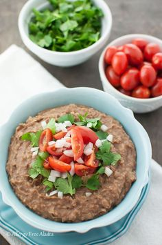 Instant Pot Refried Beans from Allergy Free Alaska. Perfect beans, every time!