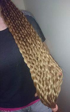 Malgorzata Kulczyk -- 49 strands of hair!