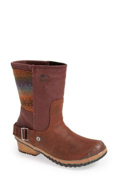 SOREL 'Slimshortie™' Waterproof Boot (Women) | Nordstrom