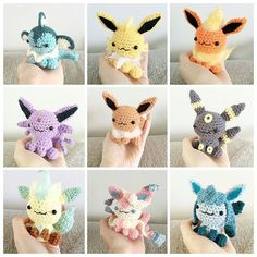 These fluffy eeveeloutions are by @peachaddict ・・・ #throwbackthursday to my eeveelution collection which I no longer have #crochet #amigurumi #pokemon #eevee #pokemon #umbreon #espeon #flareon #vaporeon #cute #jolteon #sylveon #glaceon #leafeon #eeveelution #eeveelutions #kawaii #art #pokémon #awesome #evolution #pocketmonsters #nintendo #adorable #pokemonart #pkmn #shinyeevee #3ds #otaku #evolutions