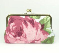 Floral Clutch Bridesmaid Gift Idea