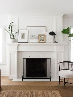 Image result for decorative fireplace cover mantle
