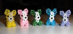 Beaded 3-D Chihuahua's - JEWELRY AND TRINKETS