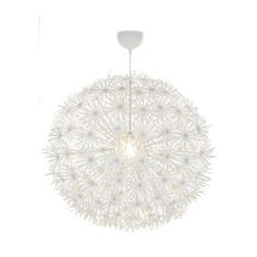 Love love love - dandelion chandelier... perfect.