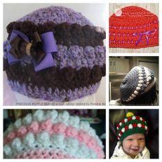 Ravelry: Precious Popple Beanie pattern by Good Lookin' Hookin'