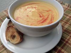 ready to devour - cauliflower soup!