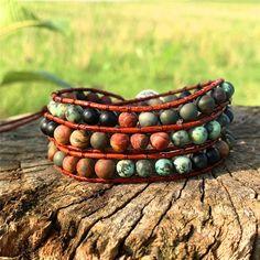 Boho Bracelet Handmade Raw Stone Bracelet Be Brave Bracelets Diy, Couple Bracelets, Bohemian Bracelets, Handmade Bracelets, Paracord Bracelets, Leather Bracelets, Diamond Bracelets, Bracelet Making, Jewelry Making