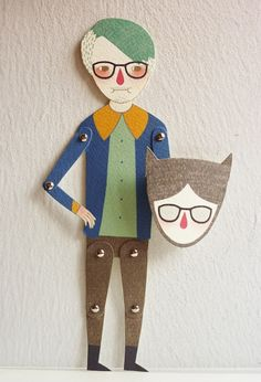 Articulated Paper Doll by Minifanfan <3