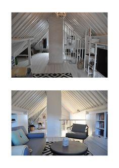 Studio Vabø - Staircase design - Møllegata Before and After Staircase Design, Kingston, Latina, Loft, Architecture, Bed, Furniture, Home Decor, Arquitetura