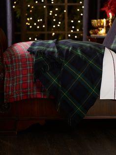Dress Gordon Throw Blanket - Ralph Lauren Home Throws - RalphLauren.com