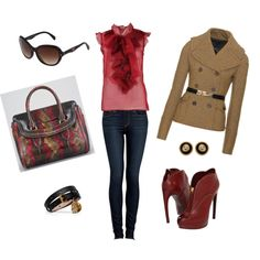"""Flair For Fall"" by lynnetocchet-1 on Polyvore"