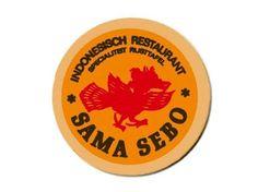Beer Mat from Sama Sebo - Amsterdam