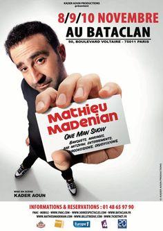 MATHIEU MADENIAN au Bataclan