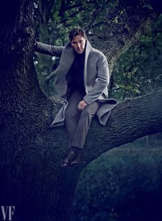 Benedict Cumberbatch photographed by Jason Bell for Vanity Fair's November 2014 issue.