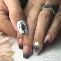 Installation of acrylic or gel nails - My Nails Cute Nails, Pretty Nails, My Nails, Holiday Nails, Christmas Nails, Lion Nails, Nailart, Animal Nail Art, Nail Art Techniques