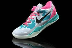 5cd87fc92cb4f5 Womens Kobe 8 South Beach Fireberry 555035 110 Discount for sale