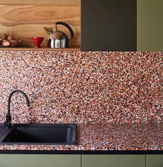Terrazzo Tile For Kitchen Sink #terrazzo