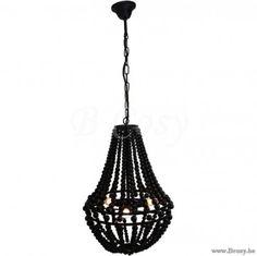 "Lifestyle94-Lifestyle Bella Beads Hanging Lamp Black S 125491 <span style=""font-size: 6pt;""> luster-luchter-kroonluchter-chandelier-pendant-luester-Leuchter-Kronleuchter </span>"