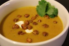 Everything in the Kitchen Sink: Tamarind Spiced Roasted Eggplant Soup