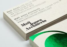 Matt Jones Architects : Lovely Stationery . Curating the very best of stationery design