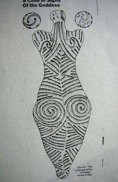 Tatooed goddess | Flickr - Photo Sharing! Ancient Goddesses, Viking Culture, Early Middle Ages, Sacred Feminine, Goddess Art, Stone Crafts, Indigenous Art, Sacred Art, Ancient Art