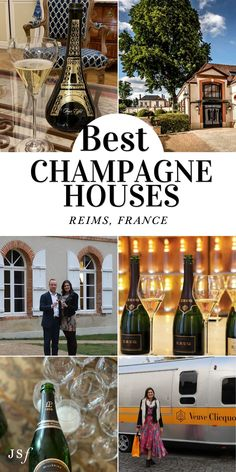 Love Champagne? You should definitely consider visiting Reims, France and their beautiful Champagne Houses. Check out my blog to see the Best Champagne Houses to Visit in Reims, France. Champagne France, Best Champagne, West Coast Cities, Travel Activities, Best Cities, Day Trip, Luxury Travel, Places To Go, Beautiful Places