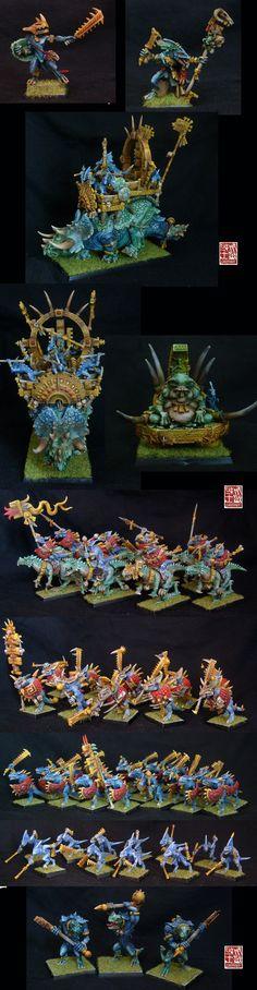 lizardmen army