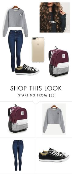 """""""Ep 3"""" by kelsey-turk on Polyvore featuring Victoria's Secret, Topshop, Converse and Speck"""