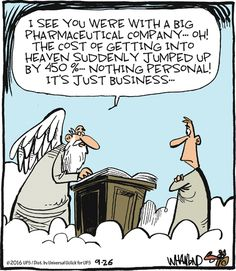 Turnabout is fair play funny pictures Christian Comics, Christian Cartoons, Christian Jokes, Funny Cartoons, Funny Jokes, Hilarious, Funny Sayings, Bible Humor, Religious Humor