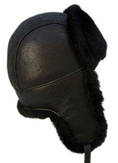 e2d1e44c buyfurhat Men's Trapper Ushanka Aviator Russian Sheepskin Hat (L, Cold  Brown) at Amazon Men's Clothing store: