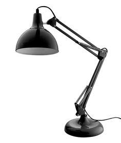 Luminária Mesa Modern Pop Preta*