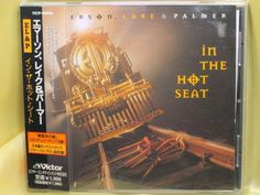 CD/Japan- EMERSON LAKE & PALMER In The Hot Seat +1 w/OBI RARE VICP-60646 #ProgressiveRockPopRock