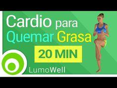 Rutina intensa de 20 minutos de cardio para adelgazar (VIDEO) | Adelgazar - Bajar de Peso