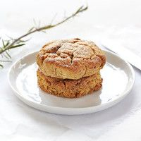 Fiberrike scones uten hvetemel. Cottage Cheese, Scones, Pancakes, Protein, Muffin, Breakfast, Food, Morning Coffee, Essen