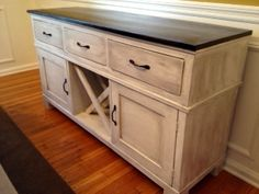 Salsa Console | Do It Yourself Home Projects from Ana White