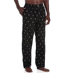 Hanes Mens Printed Knit Pajama Pant