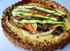Edu's Pantry: Tarte de Vegetais com uma base de Quinoa