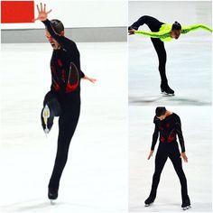 One of the most charismatic skaters at #nebelhorntrophy @jorikhendrickx  #figureskating #figureskatingstore #iceskating #фигурноекатание #figureskater #icedance